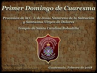 Primer Domingo de Cuaresma, Santa Catalina AG