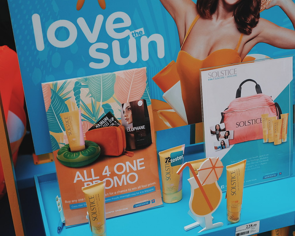 #LovetheSun with Summer Essentials from Watsons + Win a Trip
