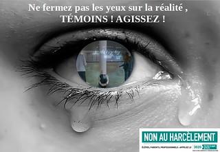 Les affiches du prix « Non au harcèlement » 2018 dans l'académie de Lyon