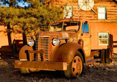 oldtruck rust sunset warm newmexico taos canon7dmarkii ef24105mm chevrolet nm unitedstates sanden us windows