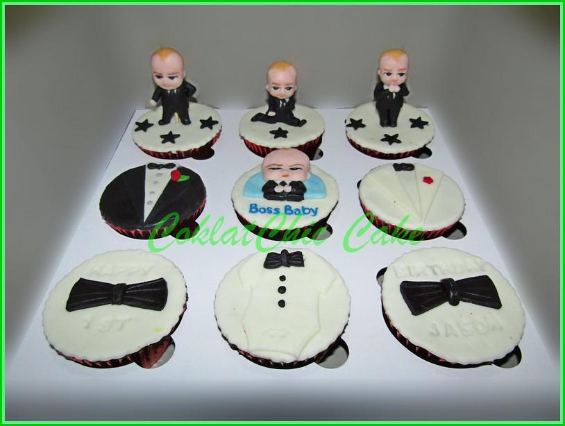 Cupcake Set Boss Baby