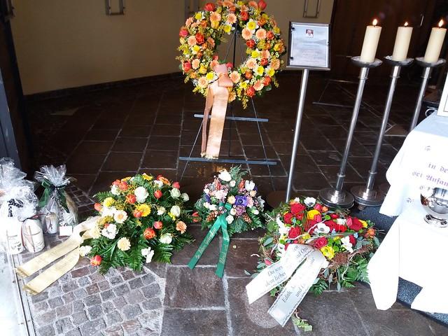 Begräbnis Fritz Lettner