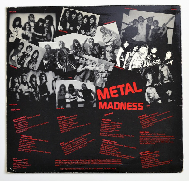 A0348 VA Various Artists Metal Madness Volume One - Periodic Review