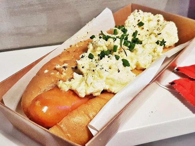 Truffle Egg Mayo Hotdog