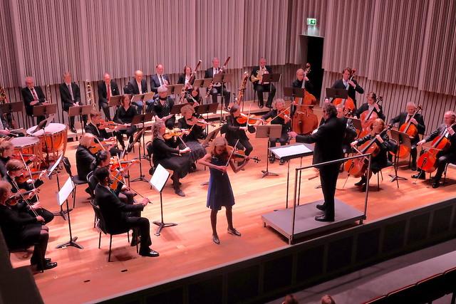 Nicole Biegniewska med Bråvikens Kammarsymfoniker