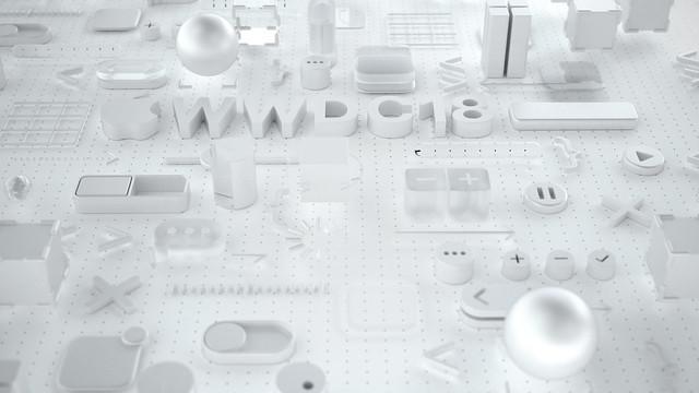 多款 WWDC 2018 超有質感 3D 立體桌布下載