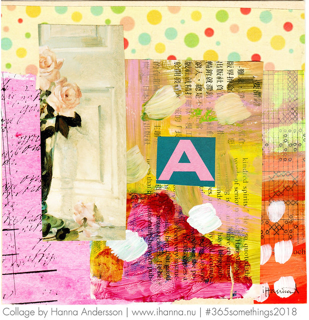 A Student in the Art of Living - Collage nr 44 by iHanna #365somethings2018 #collage