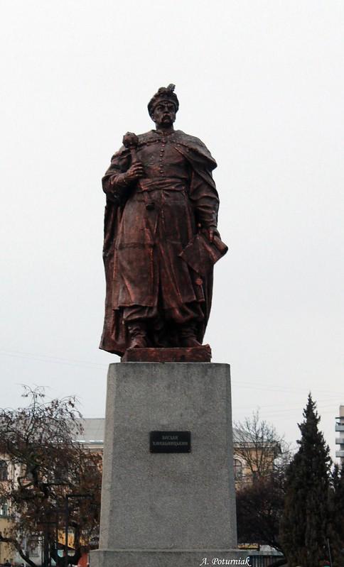 Пам`ятник Богданові Хмельницькому на Привокзальній площі