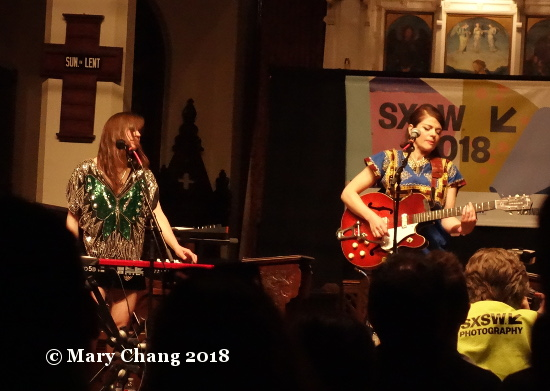 Gemma Ray Tuesday at SXSW 2018