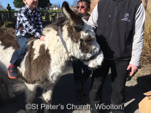 Palm Sunday at St Peter's