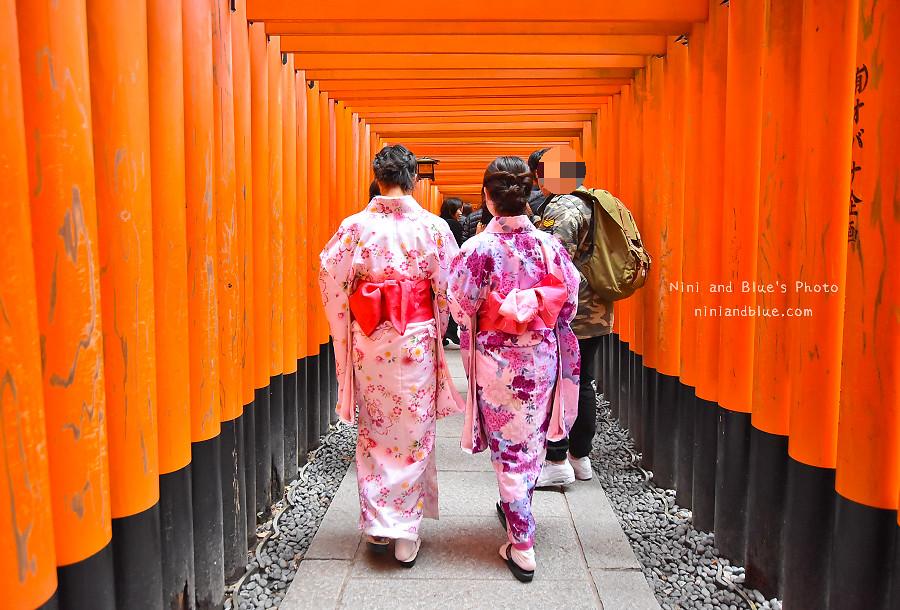 京都景點推薦 伏見稻荷神社 鳥居 怎麼去14