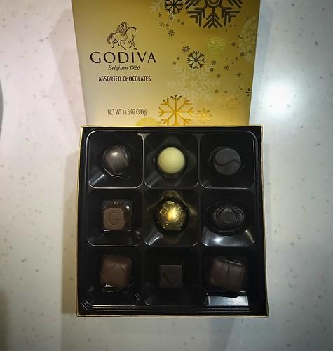 慶祝婦女節的巧克力