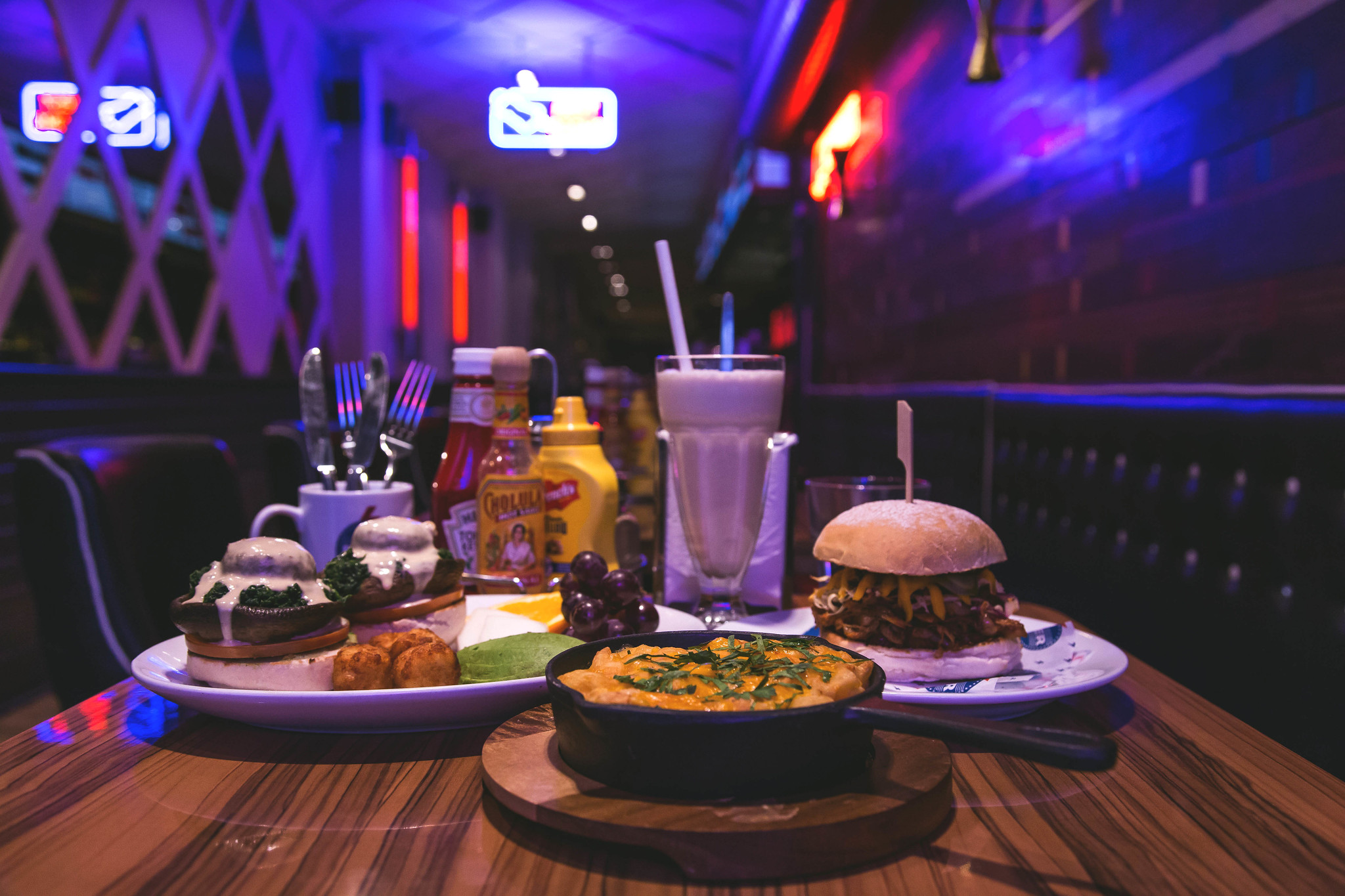 The Diner: Vegan Menu