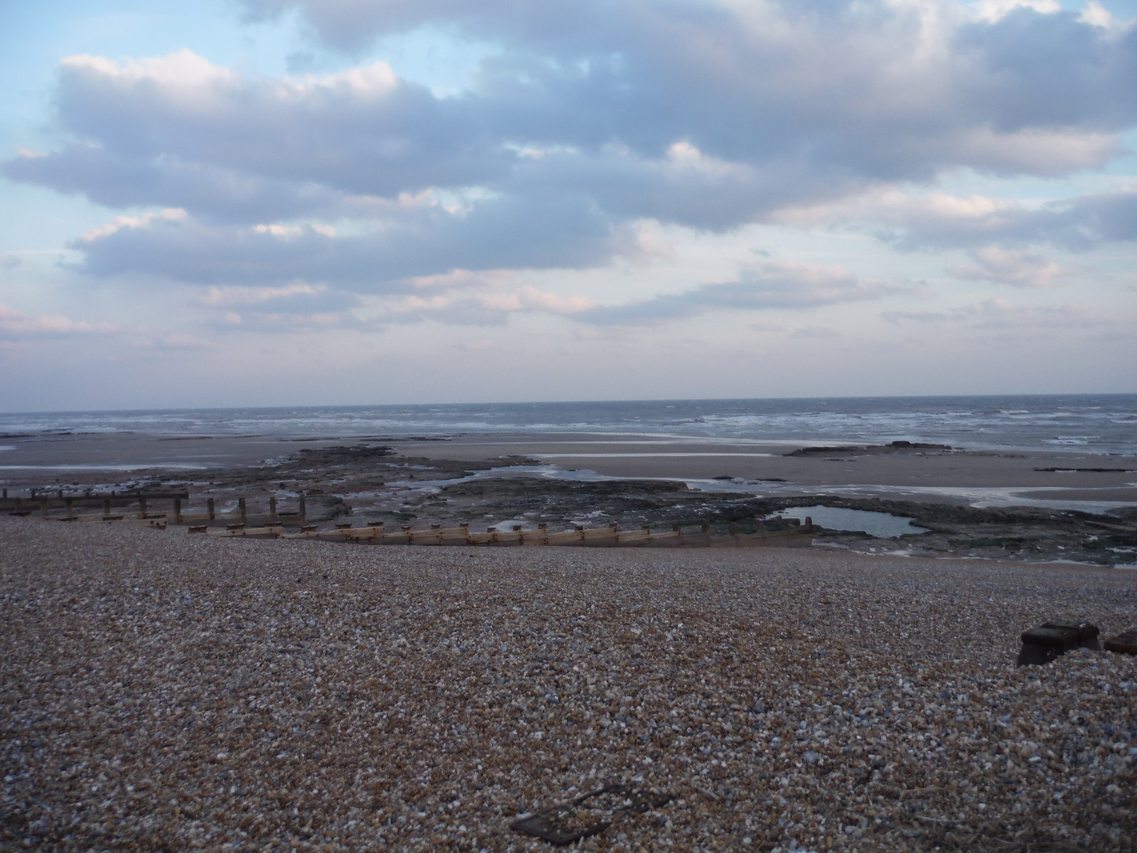 Beach by Galley Hill SWC Walk 66 - Eastbourne to Hastings via Bexhill
