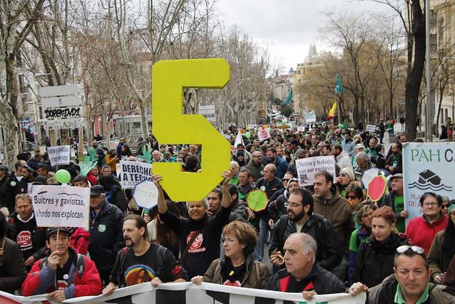 Manifestación #LeyViviendaPAH