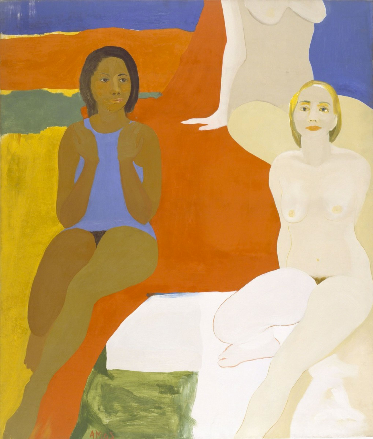 Emma-Amos-Three-Figures-1966