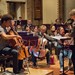 09 DSCN0076c Sheku Kanneh-Mason rehearsing the Elgar Cello Concert with Ealing Symphony Orchestra. Leader Peter Nall. Conductor John Gibbons 3rd March 2018 (Photo Lucy Robinson)