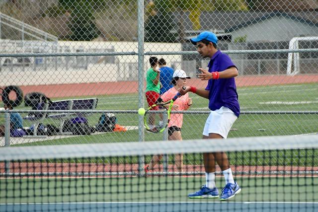 Boys tennis vs Los Gatos HS