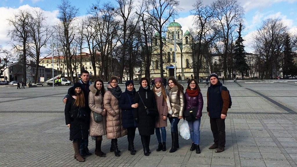 Екскурсія студентів та викладачів у Польщу