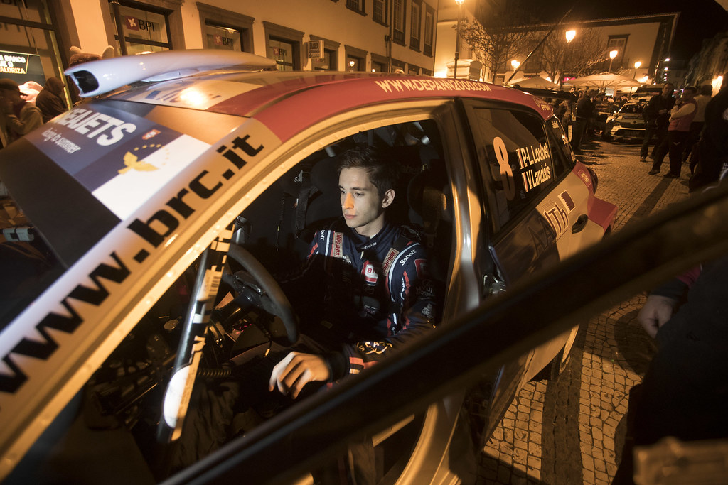 08 LOUBET Pierre louis (fra), LANDAIS Vincent (fra), BRC RACING TEAM, HYUNDAI I20 R5, portrait during the 2018 European Rally Championship ERC Azores rally,  from March 22 to 24, at Ponta Delgada Portugal - Photo Gregory Lenormand / DPPI