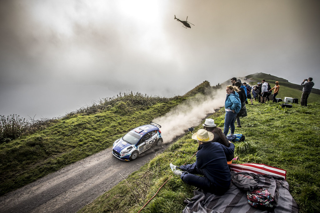 04 HABAJ Lukasz (pol), DYMURSKI Daniel (pol) , RALLY TECHNOLOGY, FORD FIESTA R5, action during the 2018 European Rally Championship ERC Azores rally,  from March 22 to 24, at Ponta Delgada Portugal - Photo Gregory Lenormand / DPPI
