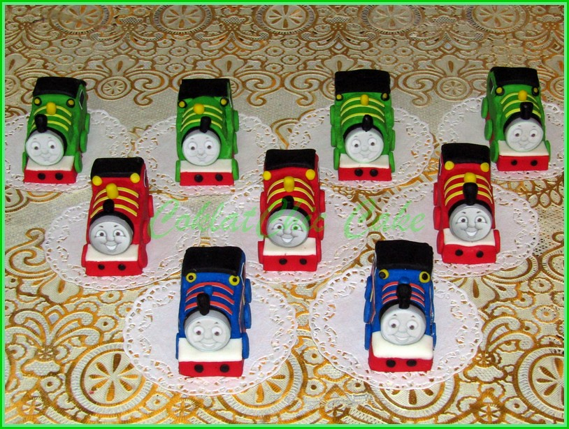 Minicake Thomas The Train