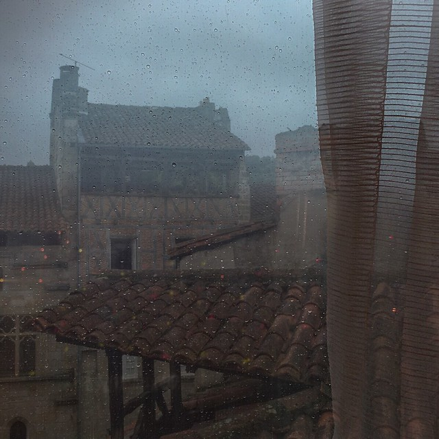 Figeac on a Rainy Day