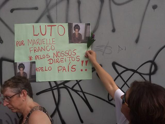 Partido espanhol condena na Comissão Europeia morte de Marielle