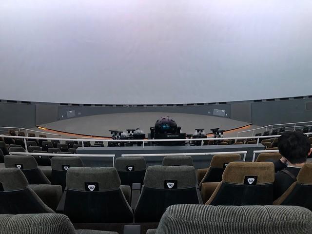 日立シビックセンター 天球劇場 科学館