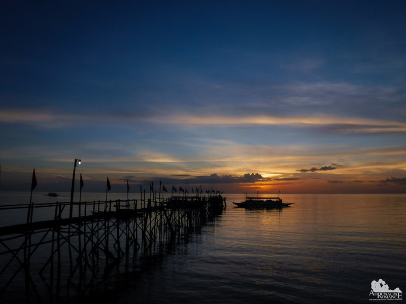 Sunset at Matalom, Leyte