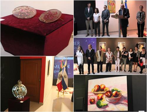 Inauguración Exposición CreArte Mujer, Expresiones Femeninas