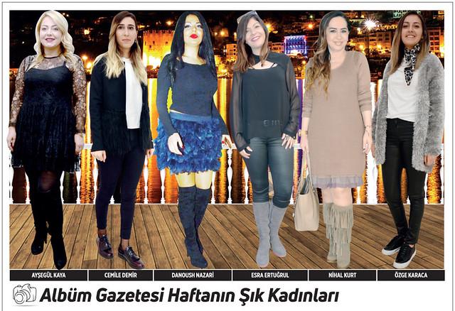 Ayşegül Kaya, Cemile Demir, Danoush Nazari, Esra Ertuğrul, Nihal Kurt, Özge Karaca