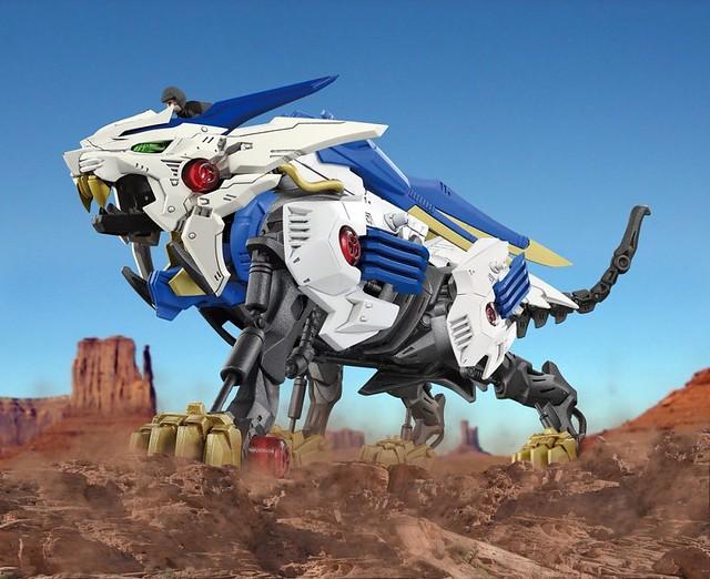 嶄新系列《ZOIDS WILD》「狂野獅虎」強力登場!ゾイドワイルド『ZW01 ワイルドライガー』