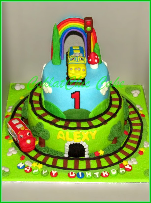 Cake Chuggington ALEXY 18 cm +10 cm