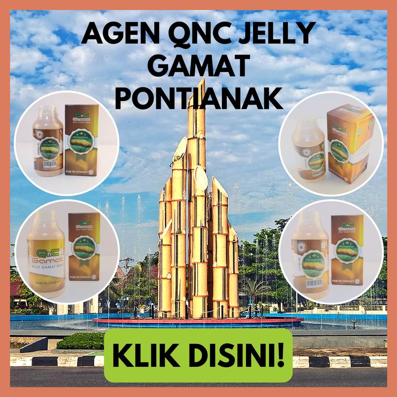 Agen Resmi QnC Jelly Gamat Pontianak