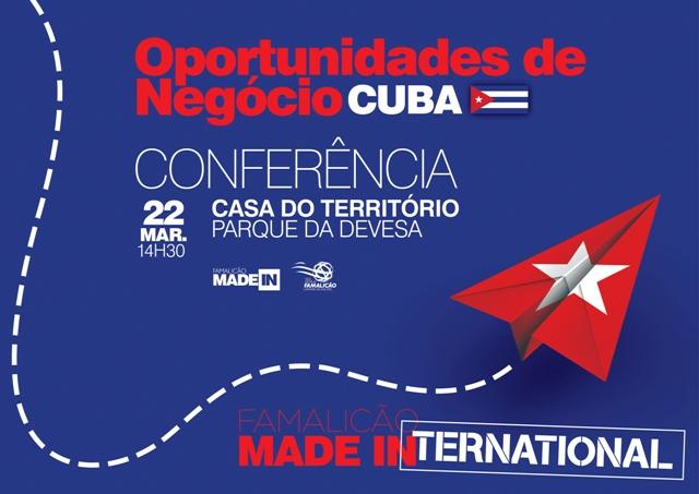 Conferência realiza-se a 22 de março
