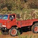 Blending in - former British Army Land Rover 101 Forward Control gun tractor JSS 513N, c1975