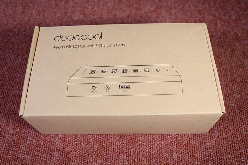dodocool 7ポート USBハブ 開封レビュー (1)