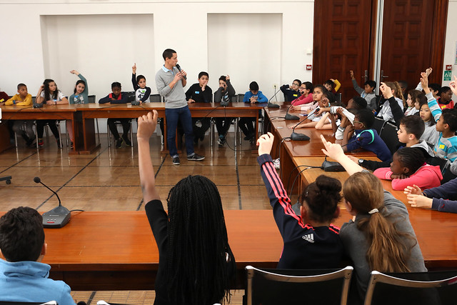 Assemblée des enfants USEP