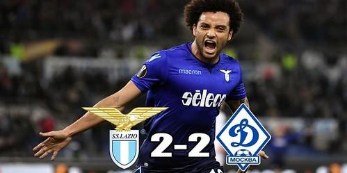 Cuplikan Gol – Lazio 2-2 Dynamo Kyiv – 08 Maret 2018 – Liga Eropa