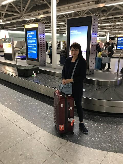 Baggage section,  Heathrow