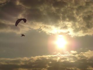 Паралёт на фестивале воздухоплавания