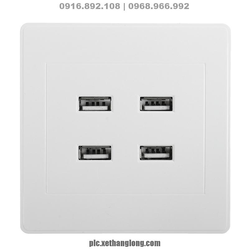 Ổ điện 4 cổng sạc USB, 3.1A