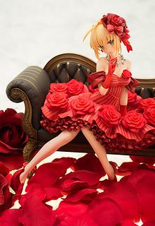 華麗的薔薇皇帝親臨舞台!AQUAMARINE《FATE/EXTRA》偶像皇帝/尼祿(アイドル皇帝/ネロ)1/7比例模型