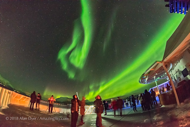 Aurora Watchers on m/s Nordnorge #2
