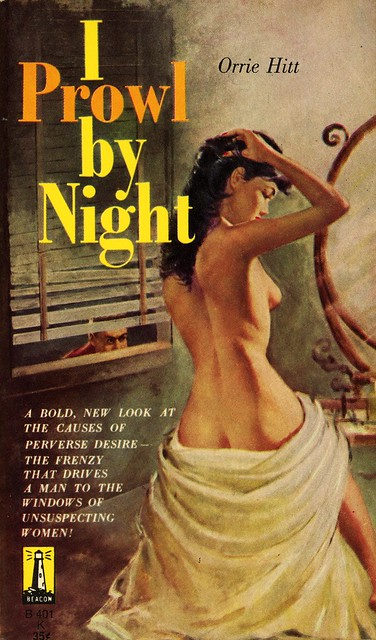 Beacon Books B401 - Orrie Hitt - I Prowl by Night