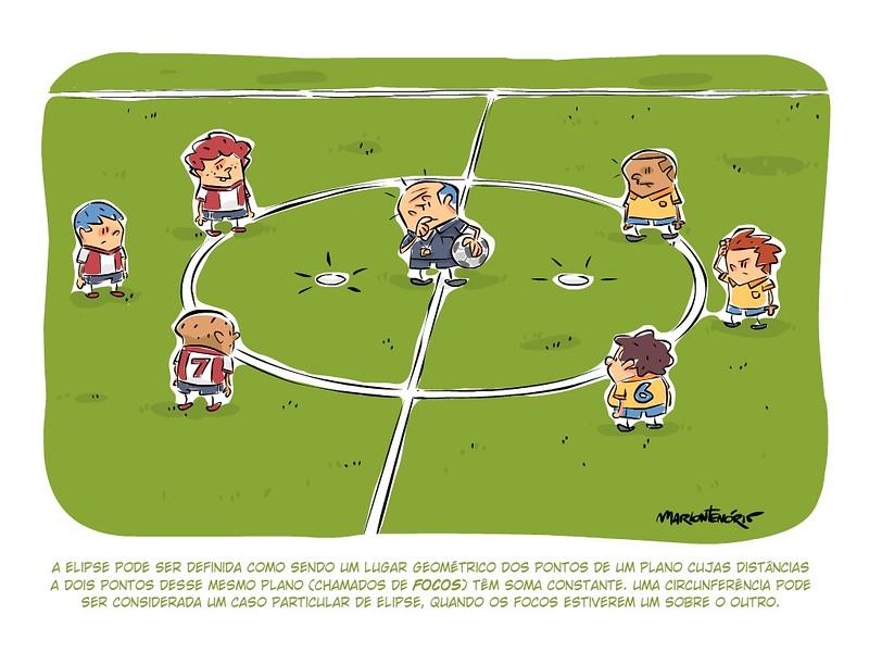 Elipse no futebol