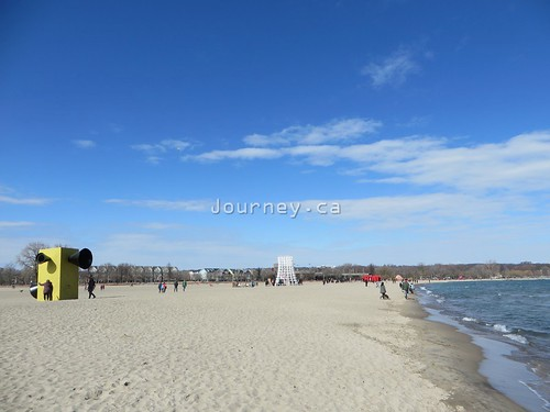 Winter at The Beaches, Toronto