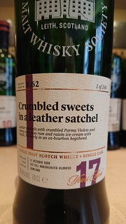 SMWS 5.62 - Crumbled sweets in a leather satchel
