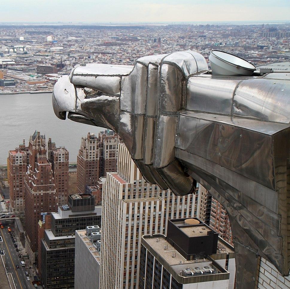 A Gargoyles view of New York City